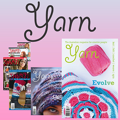 Artwear Publications Yarn For Knitting Crochet More 12 Months
