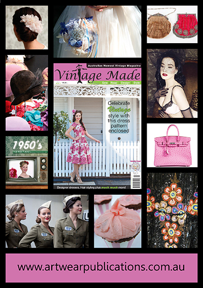 Vintage Made issue 1 peek inside