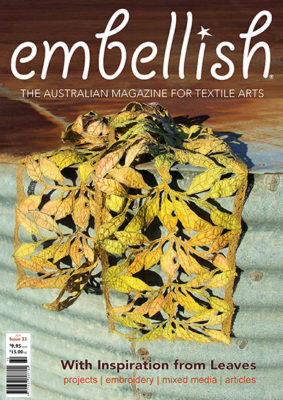 Embellish 33 cover