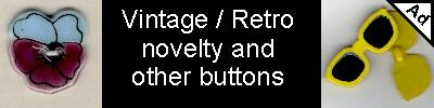 Vintage Retro buttons