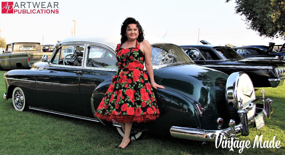 Vintage Rockabilly Hatter Strap Dress Gallery