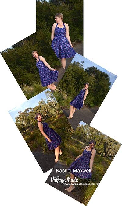 Rachel Maxwell Rockabilly Halter Strap Dress