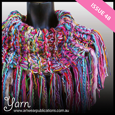 Wild and Wonderful: the 100-yarn cowl by Gail Kutasi