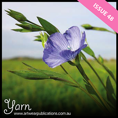 Yarns from Plants - article by Naomi James