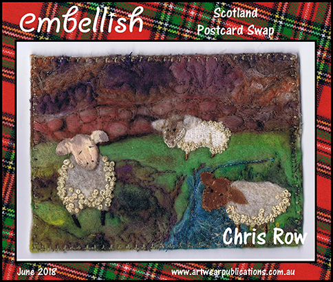 Embellish Postcard Swap